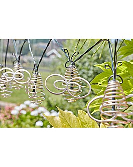 Smart Garden Bee Solar String Lights