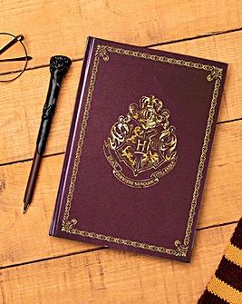 Hogwarts Notebook & Wand Pen