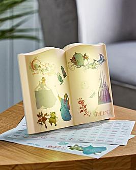Cinderella Story Book Light