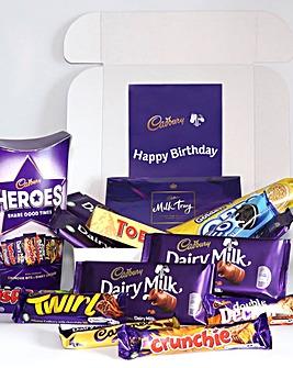 Cadburys Personalised Family Hamper