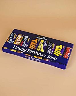 Cadburys Personalised Letterbox Hamper