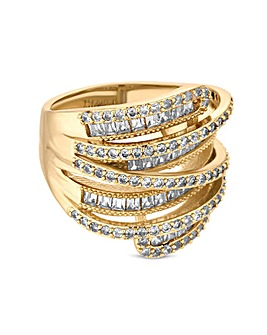 Jon Richard Multi Row Ring