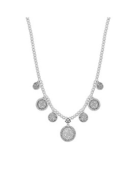 Jon Richard Filigree Disc Necklace