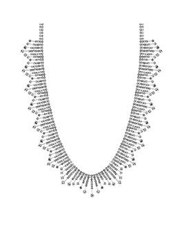 Jon Richard Diamante Stick Necklace