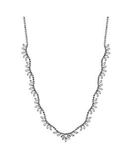 Jon Richard Diamante Wave Necklace