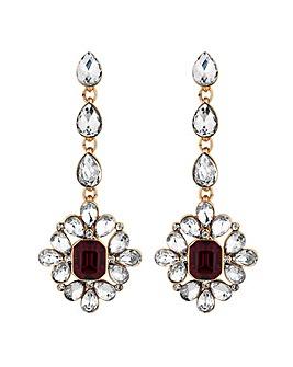 Mood Crystal Baroque Drop Earring