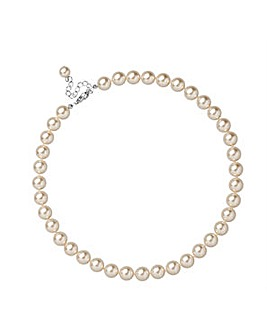 Jon Richard Cream Pearl Necklace