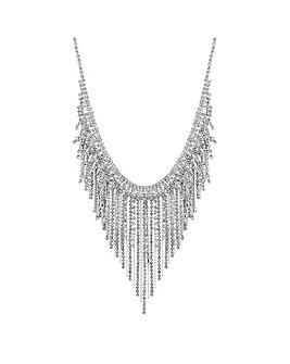 Jon Richard Diamante Chain Necklace