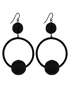Mood Orb Hoop Earring