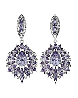 Mood Crystal Ornate Drop Earring