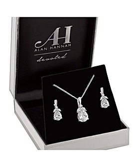 Alan Hannah Flower Jewellery Set