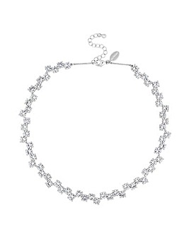 Jon Richard Crystal Wave Necklace