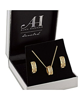 Alan Hannah Barrel Jewellery Set