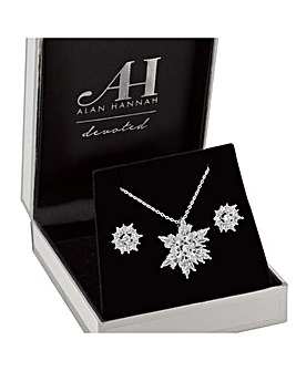 Alan Hannah Snowflake Jewellery Set