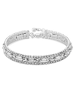 Jon Richard Crystal Statement Bracelet