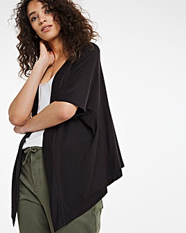 Square Cut Jersey Shrug