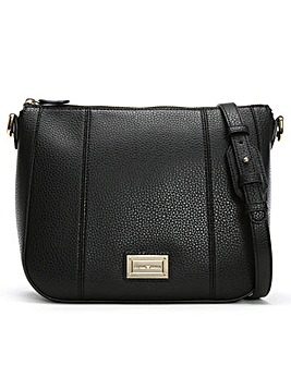 Emporio Armani Spalla Pebbled Cross-Body