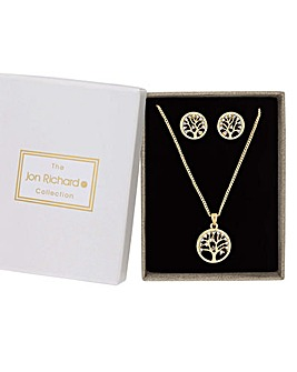 Jon Richard Tree Of Life Jewellery Set