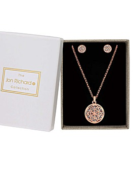 Jon Richard Filigree Jewellery Set