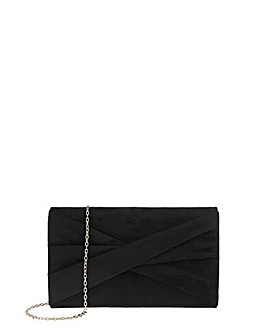 Accessorize Victoria Twist Bow Clutch