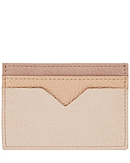 Accessorize V Cut Out Card Holder