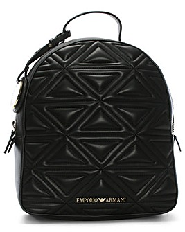 Emporio Armani Zaino Quilted Backpack