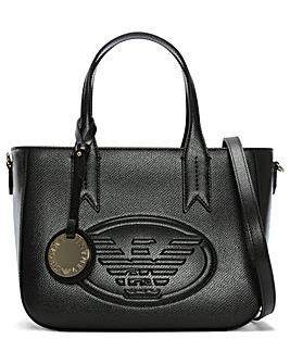 Emporio Armani Embossed Logo Tote Bag
