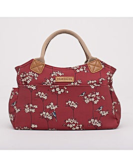 BLOSSOM DAY BAG RED ONE SIZE