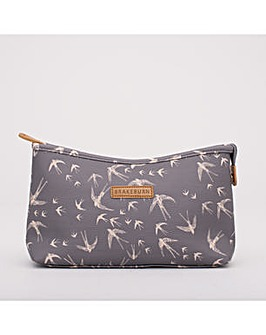 BIRDS WASH BAG GREY ONE SIZE