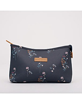 FLORAL WASH BAG SLATE ONE SIZE