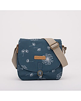DANDELION SADDLE BAG TEAL ONE SIZE