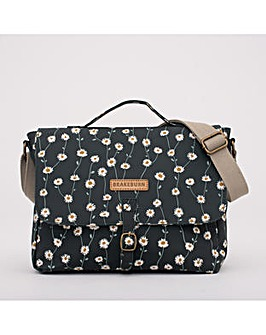 DAISY SATCHEL BAG GREEN ONE SIZE