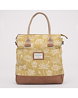 LOTUS SHOPPER  YELLOW ONE SIZE