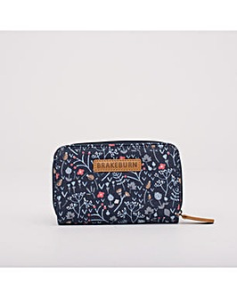 DITSY WALLET NAVY ONE SIZE
