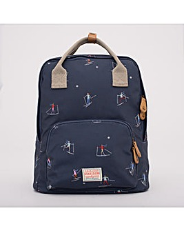 SKI BACKPACK NAVY ONE SIZE