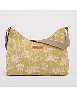 LOTUS HOBO BAG YELLOW ONE SIZE