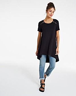 Zip Detail Tunic