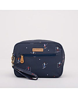 SKI LARGE WASH BAG NAVY ONE SIZE