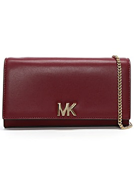 Michael Kors Large Leather Clutch Bag