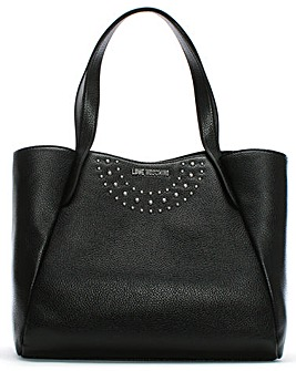 Love Moschino Studded Shopper Tote Bag