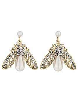 Mood Crystal Bee Earring