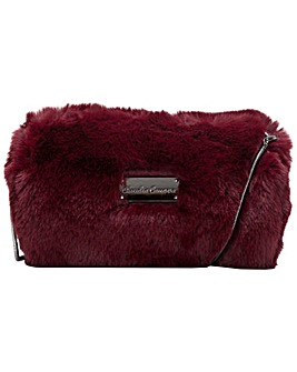 Claudia Canova Faux Fur Evening Cross Body