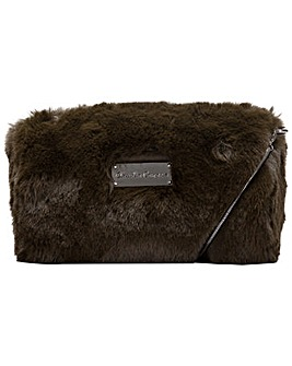 Claudia Canova Faux Fur Evening Cross