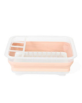 Beldray Collapsible Dish Drainer Pink