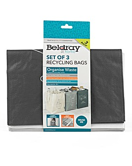 Beldray Set of 3 Recycling Bags