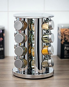 Revolving 16 Jar Spice Rack