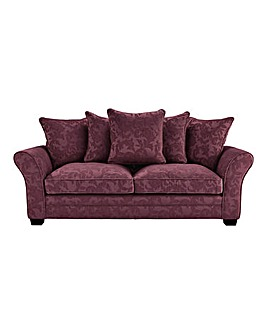 Mayfair Pillow Back Three Seater Sofa