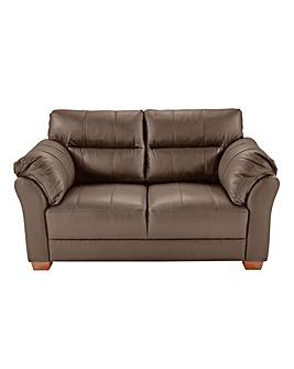 Ancona Leather Two Seater Sofa
