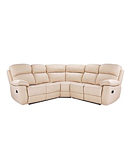 Roma Leather Recliner Corner Group
