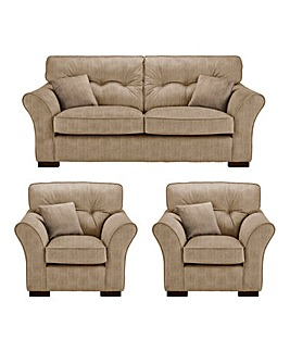 Louis 3 Seater Sofa plus 2 Chairs